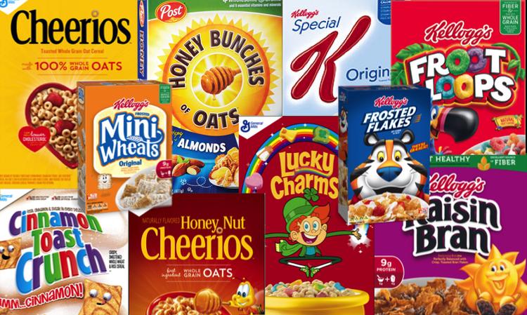 Junk Food Cereals